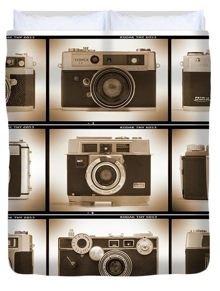 Film Camera Proofs 2 Duvet Cover by Mike McGlothlen