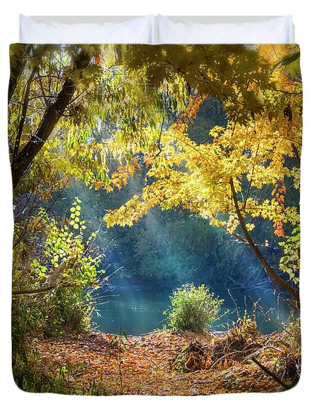 Filtered Light 3 Duvet Cover
