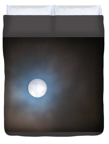 Filtered Sun Duvet Cover by David Gn