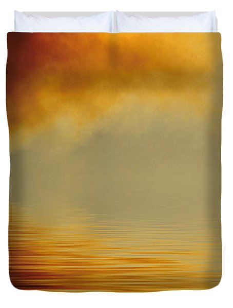 Filtered Sun Duvet Cover by Jerry McElroy