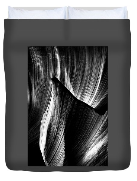 Fin Duvet Cover by David Cote