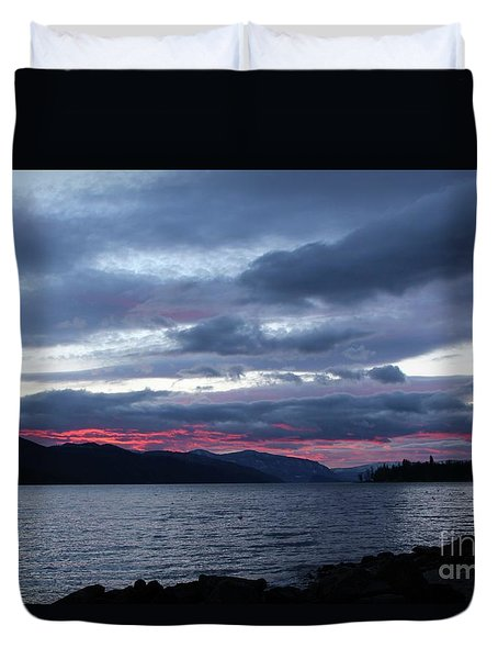 Final Touch Duvet Cover by Victor K
