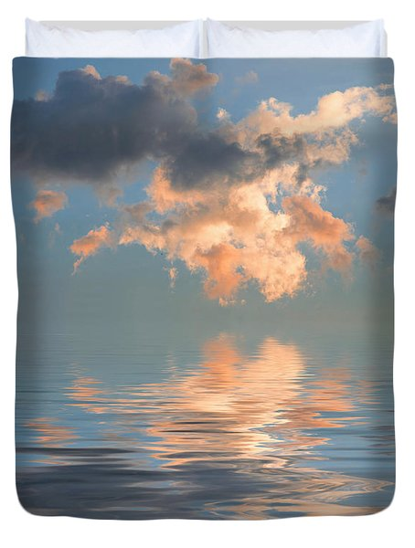 Final Words Duvet Cover by Jerry McElroy