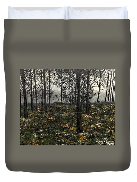 Find The Right Path Duvet Cover