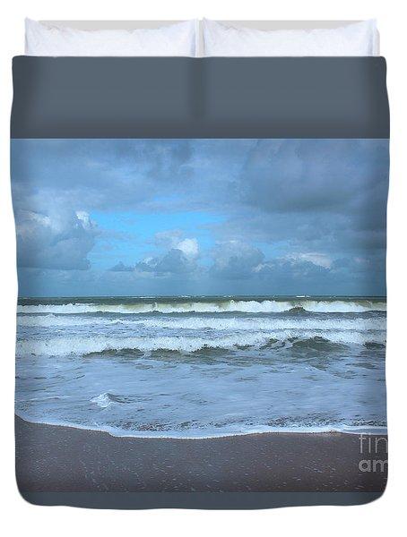 Find Your Beach Duvet Cover by Megan Dirsa-DuBois