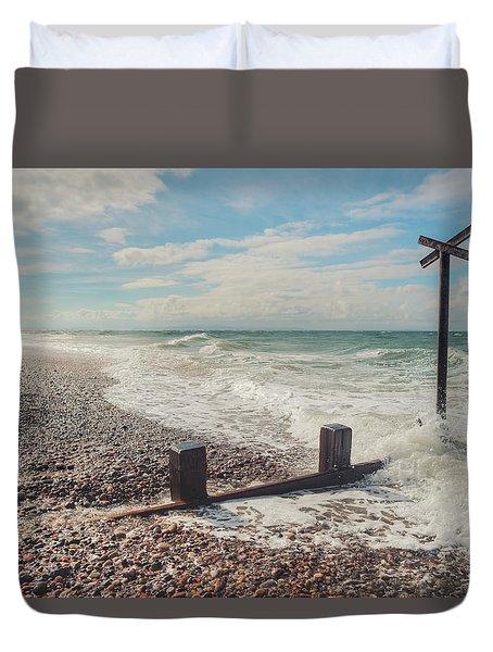 Findhorn Coast Duvet Cover