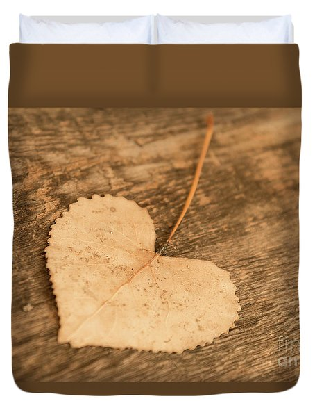Duvet Cover featuring the photograph Finding Hearts by Ana V Ramirez