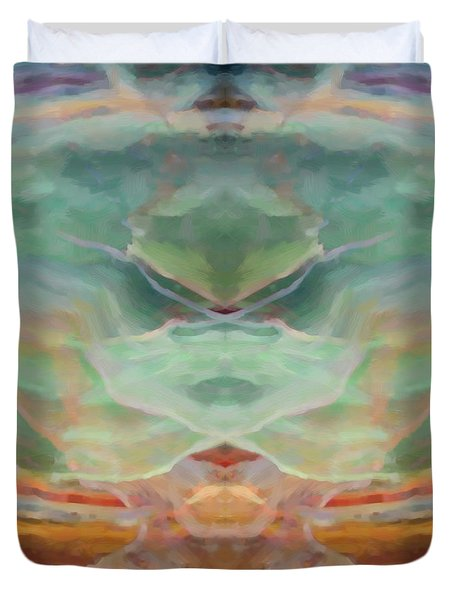 Finding Peace Duvet Cover