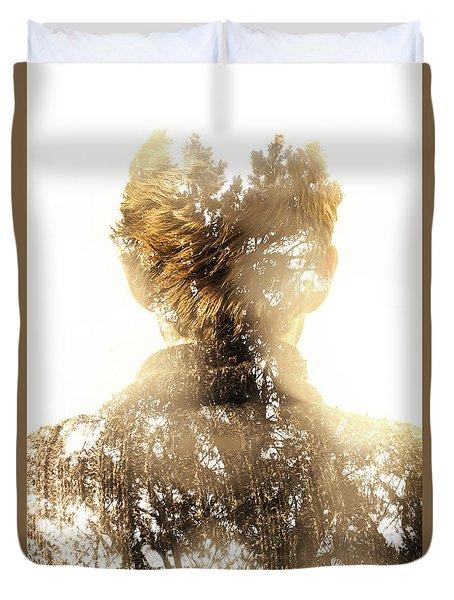 Finding Spirit Within Duvet Cover
