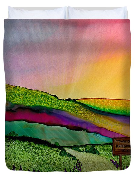 Find The Way Antigonish Ns Duvet Cover