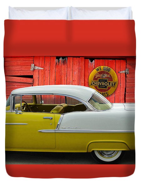 Fine 55 Duvet Cover by Rod Seel