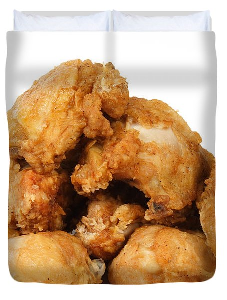 Fine Art Fried Chicken Food Photography Duvet Cover by James BO  Insogna