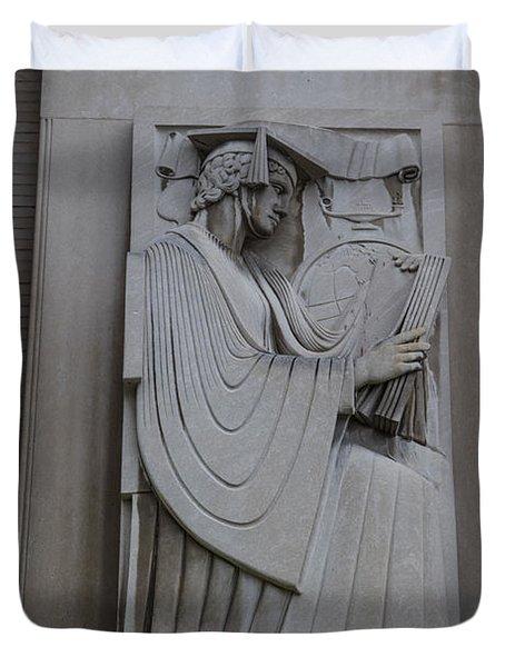 Fine Art Library Penn State  Duvet Cover
