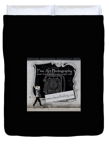 Fine Art Photography Duvet Cover by Edward Fielding