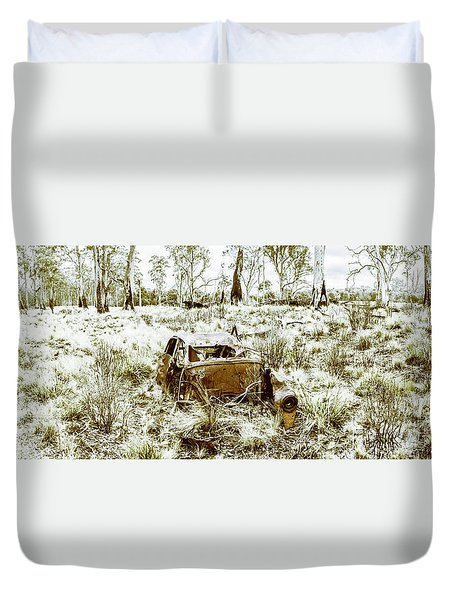 Fine Art Tasmania Bushland Duvet Cover