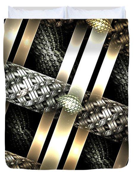 Fine Jewelry Duvet Cover