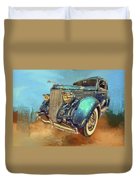 Fine Ride Duvet Cover
