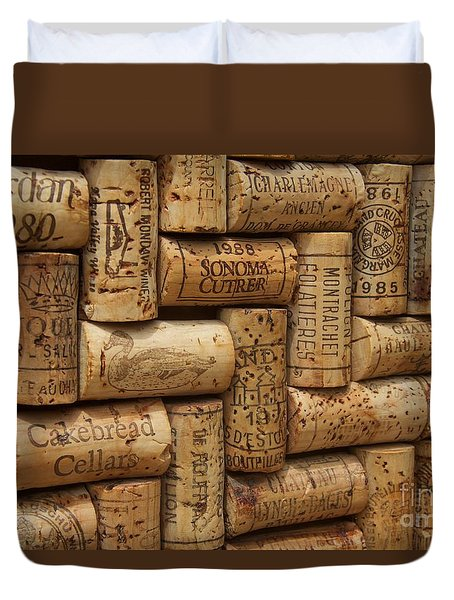Fine Wine Duvet Cover by Anthony Jones