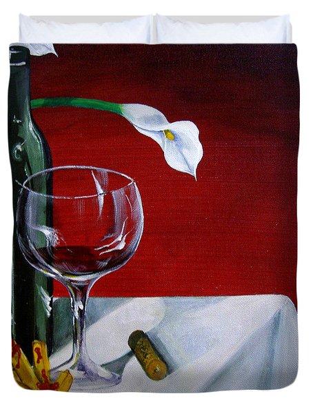 Fine Wine Duvet Cover