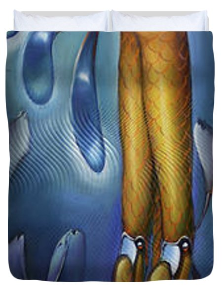 Finfaerian Odyssey Duvet Cover by Patrick Anthony Pierson