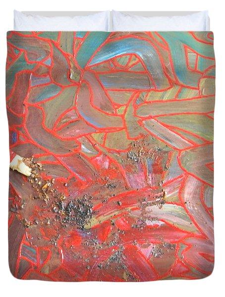 Finger Painting Duvet Cover