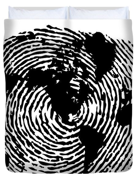 fingerprint 20X30 Duvet Cover
