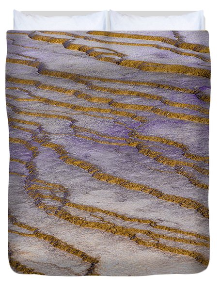Fingerprint Of The Earth Duvet Cover