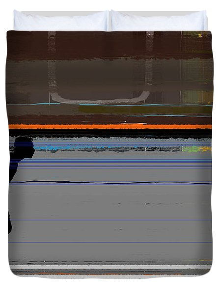 Finish 2 Duvet Cover by Naxart Studio