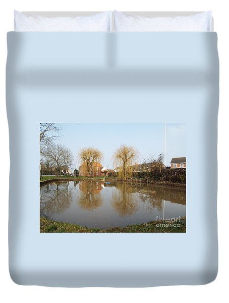 Finningley Pond Duvet Cover