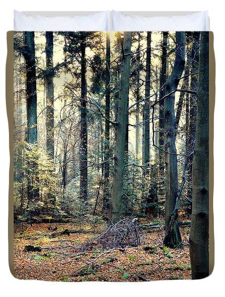 Fir Forest-2 Duvet Cover by Henryk Gorecki