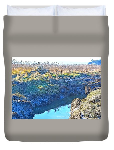 Fir Island November Duvet Cover