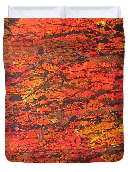 Fire 2 Duvet Cover