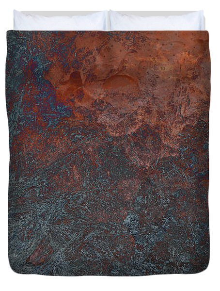 Fire And Ice Duvet Cover by Thomas Young