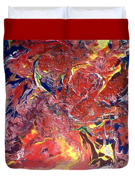 Fire And Ice Duvet Cover