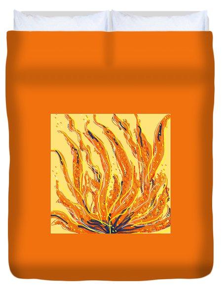 Fire Duvet Cover