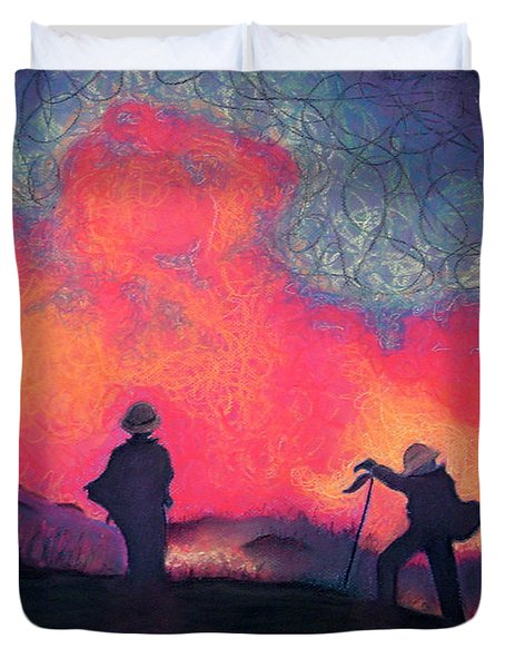 Fire Crew Duvet Cover