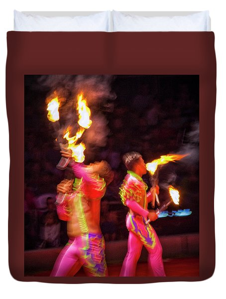 Fire Eaters Duvet Cover