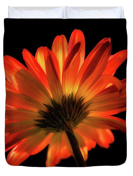 Fire Flower Duvet Cover