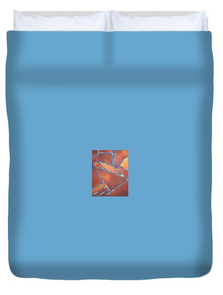 Fire From The Sky Duvet Cover by Bernard Goodman