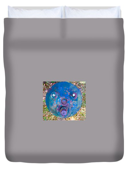 Fire Hydrant # 11 Duvet Cover