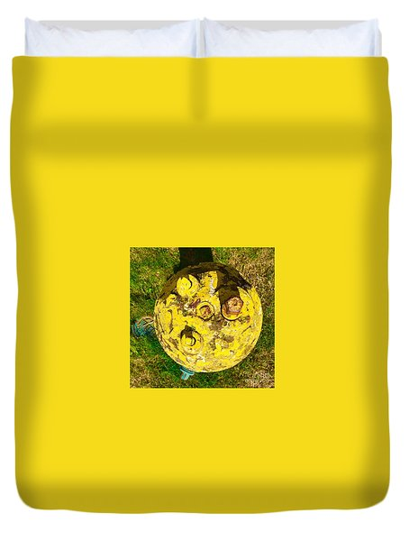 Fire Hydrant #1 Duvet Cover