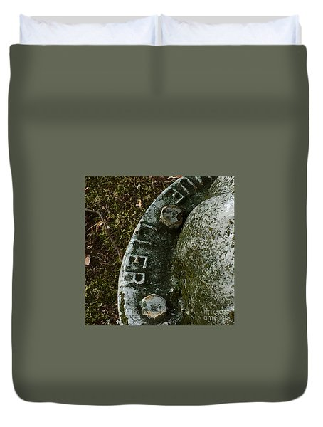 Fire Hydrant #10 Duvet Cover