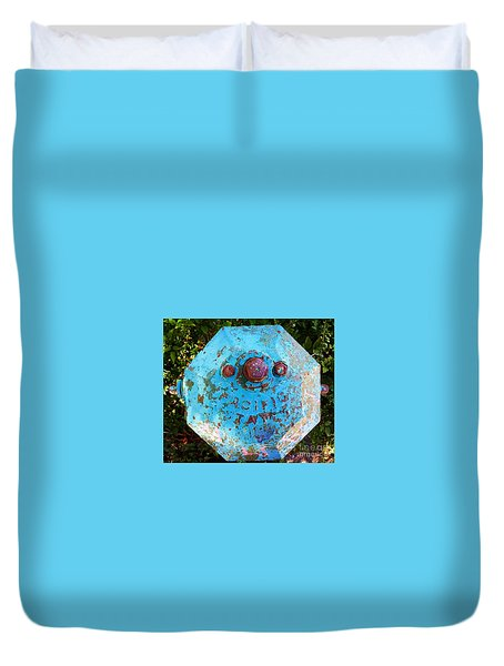 Fire Hydrant #3 Duvet Cover