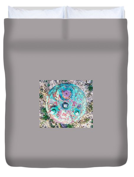 Fire Hydrant #5 Duvet Cover