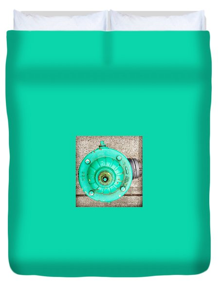 Fire Hydrant #6 Duvet Cover