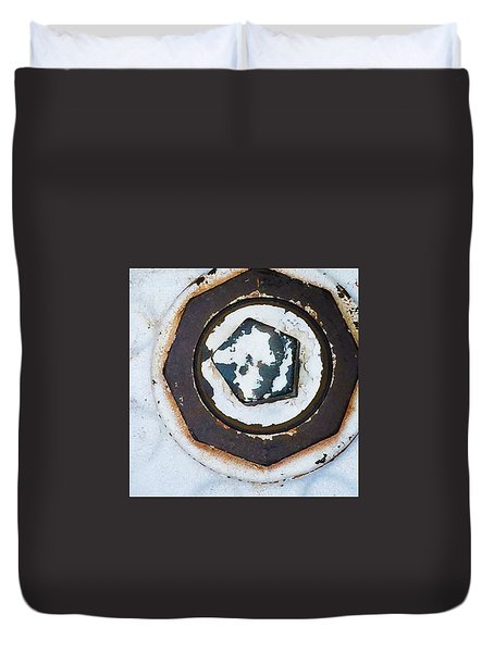 Fire Hydrant 9 Duvet Cover
