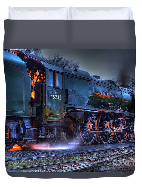 Fire In Her Belly Duvet Cover