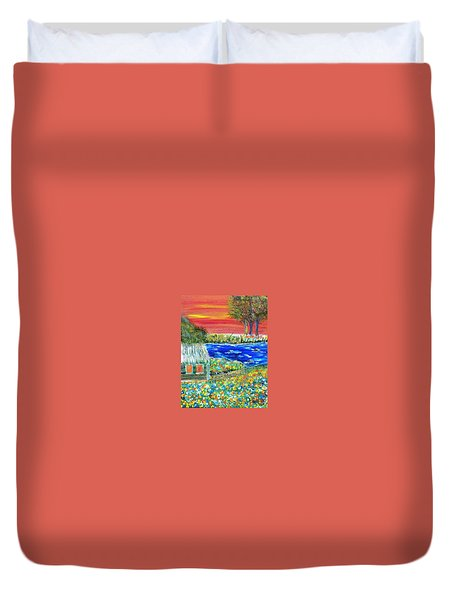 Fire Island Duvet Cover by Debbie