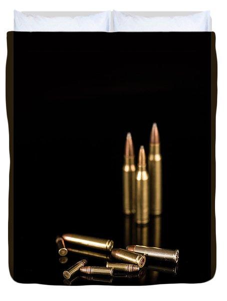 Fire Off Your Guns Duvet Cover