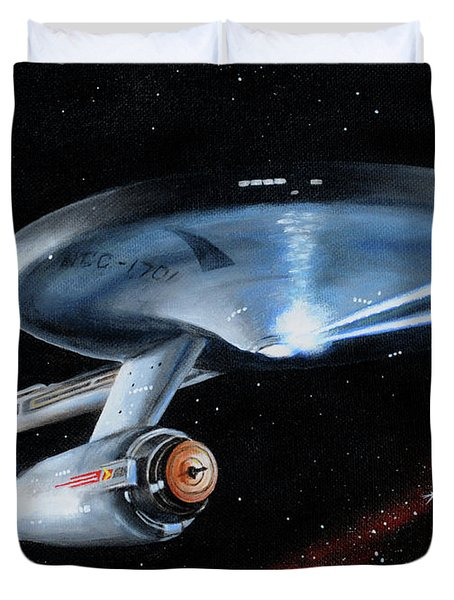 Fire Phasers Duvet Cover
